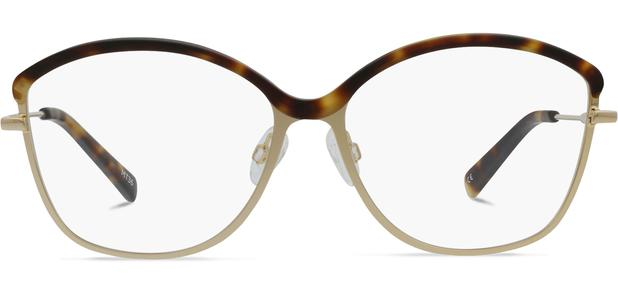 Grace K. | Light Gold Metal with Matt Moonlight Tortoise 1