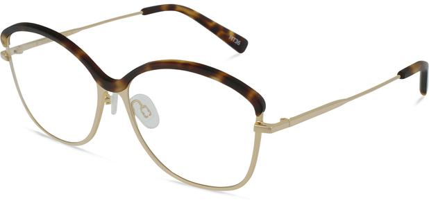 Grace K. | Light Gold Metal with Matt Moonlight Tortoise 3