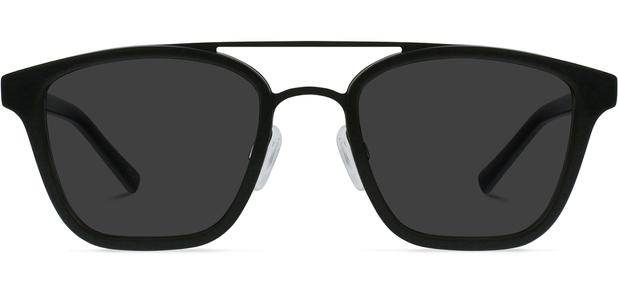 Clayton | Brushed Black Metal with Jet Black 1