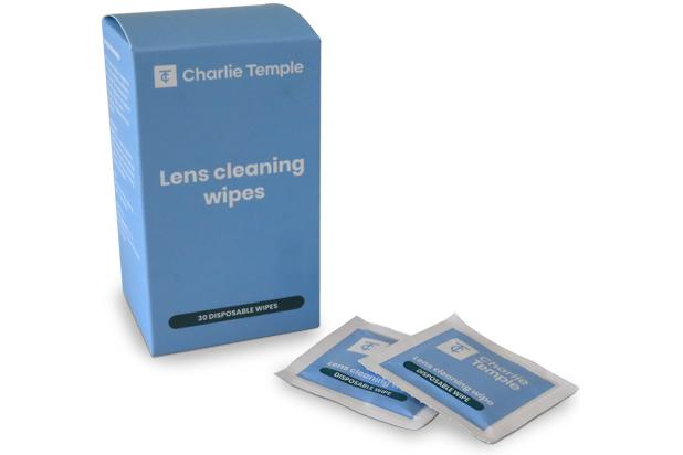 30 Lens Cleaning Wipes 1