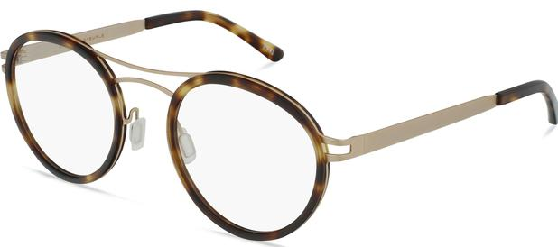 Norio | Brushed Bronze Titanium with Moonlight Tortoise 3