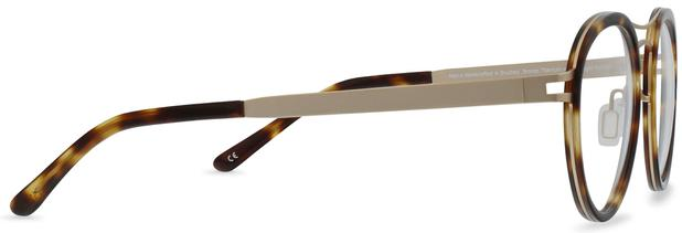Norio | Brushed Bronze Titanium with Moonlight Tortoise 5