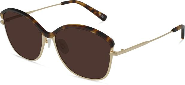 Grace K. | Light Gold Metal with Matt Moonlight Tortoise 2