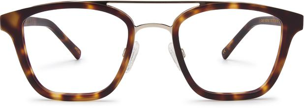 Clayton | Platinum Silver Metal with Matt Moonlight Tortoise 1