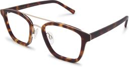 Clayton | Platinum Silver Metal with Matt Moonlight Tortoise 2