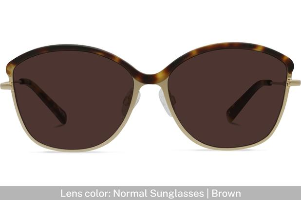 Grace K. | Light Gold Metal with Matt Moonlight Tortoise 6