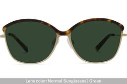 Grace K. | Light Gold Metal with Matt Moonlight Tortoise 5