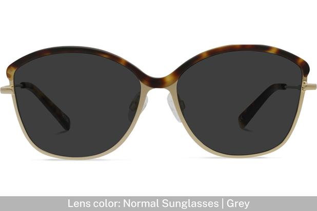 Grace K. | Light Gold Metal with Matt Moonlight Tortoise 4