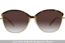 Grace K. | Light Gold Metal with Matt Moonlight Tortoise 7