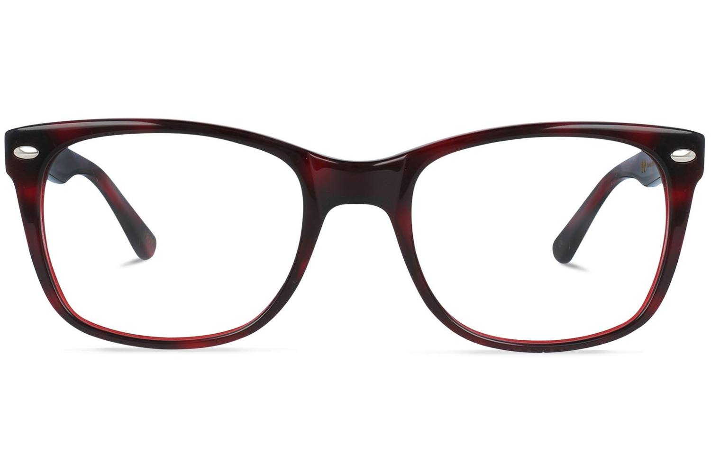 Charlie | Tortoise and Ruby Red Bril inclusief glazen op sterkte