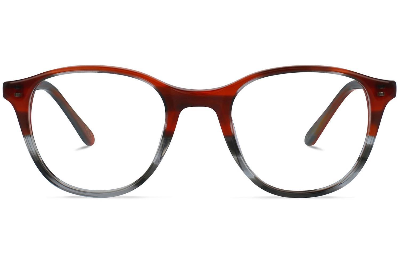 Airin | Maroon fades Havana Bril inclusief glazen op sterkte