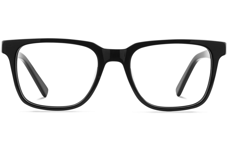 Balthazar | Jet-Black Bril inclusief glazen op sterkte