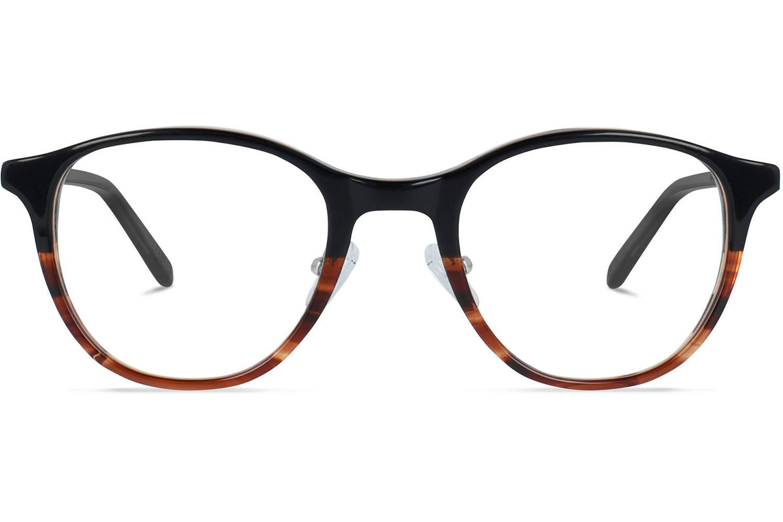 Van Charlie Temple Airin   Black fades cinnamon Bril inclusief glazen op sterkte Prijsvergelijk nu!