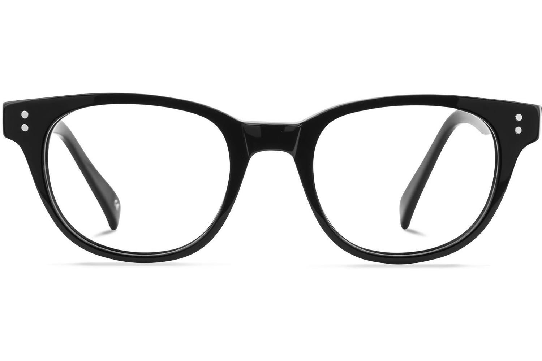 Andy W. | Jet-Black Bril inclusief glazen op sterkte