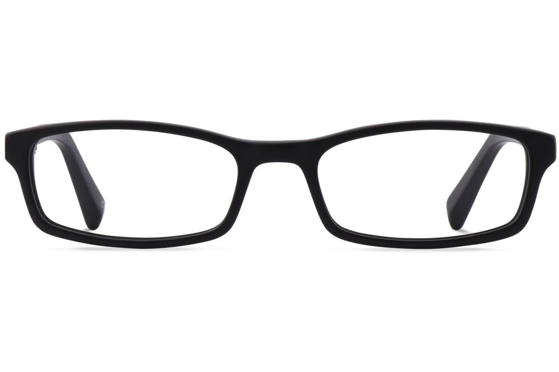 Quinn | Raw Jet-Black Bril inclusief glazen op sterkte