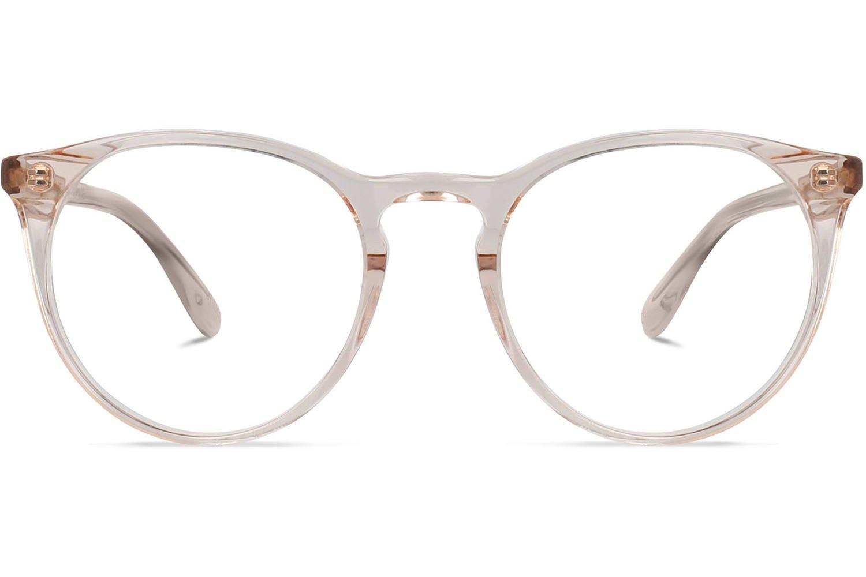 Grande Rotondo   Crystal Peach Bril inclusief glazen op sterkte