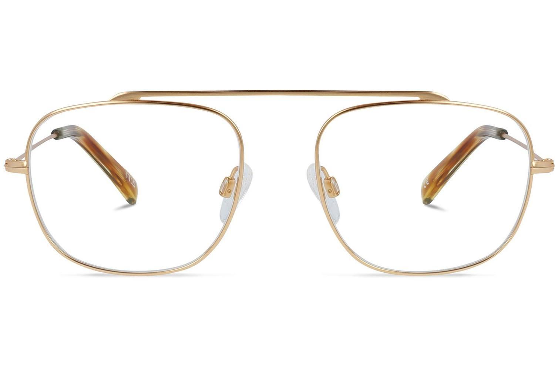 Miramar | Light Gold Titanium Bril inclusief glazen op sterkte