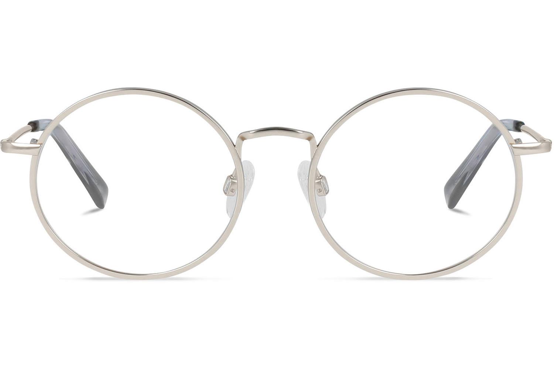 K. Arthur | Platinum Silver Titanium Bril inclusief glazen op sterkte