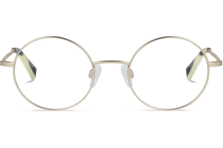 Van Charlie Temple John L. | Brushed Gold Titanium Bril inclusief glazen op sterkte Prijsvergelijk nu!