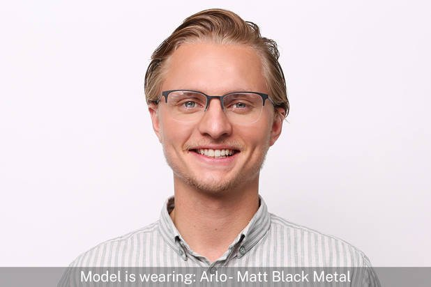 Arlo | Matt Admiral Blue Metal 4