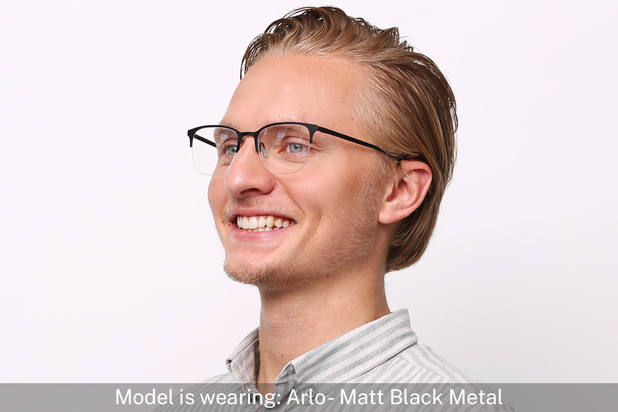Arlo | Matt Admiral Blue Metal 5