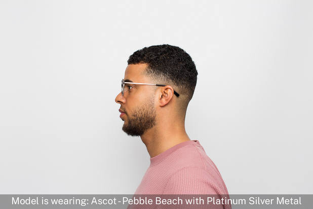 Ascot | Pebble Beach with Platinum Silver Metal 5