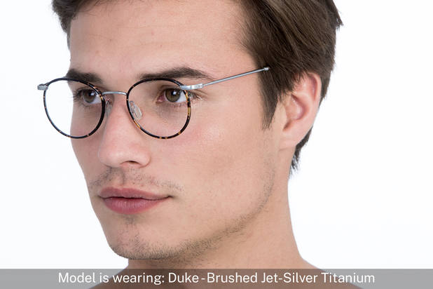 Duke | Brushed Jet Silver Titanium 5