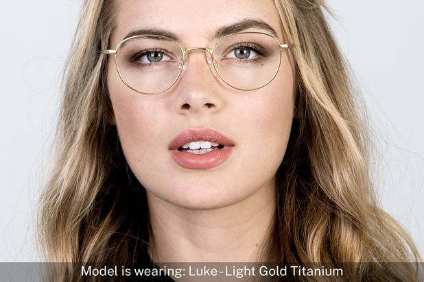 Luke | Light Gold Titanium 7
