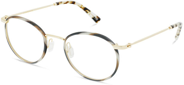 Duke | Light Gold Titanium with Indian Summer Tortoise 3