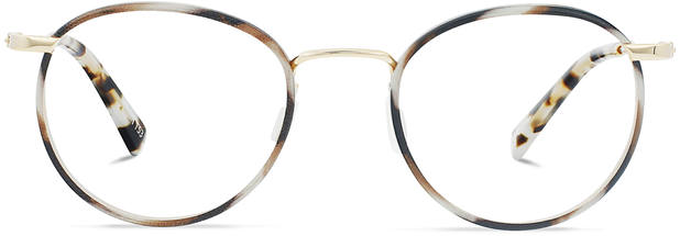 Duke | Light Gold Titanium with Indian Summer Tortoise 1