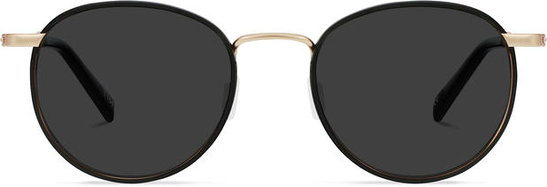 Duke | Matt Rose Gold Titanium with Jet Black