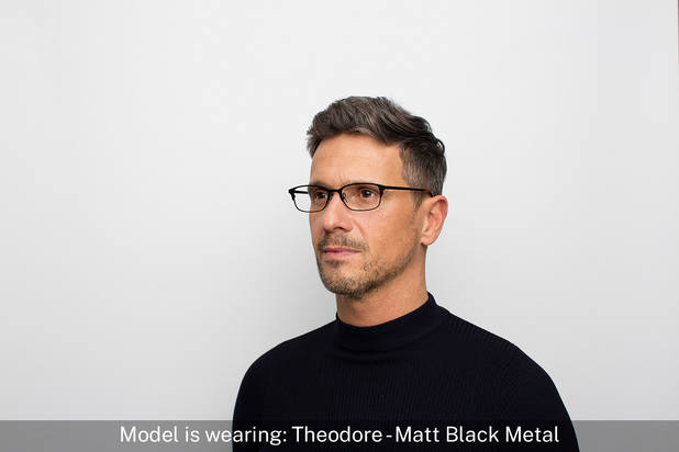 Theodore | Matt Black Metal 6