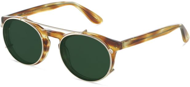 Clip-on Steven S | Gold/Green 3