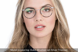 Duke | Brushed Jet Silver Titanium 7