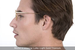 Luke | Light Gold Titanium 6