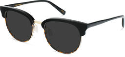 JFK | Light Gold Metal with Jet Black and Brown Havana 3
