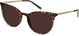 Elise | Leopard Brown with Copper Metal 3