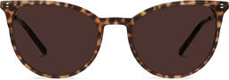 Elise | Leopard Brown with Copper Metal 1